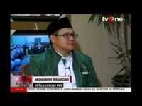 Rangkaian Muktamar PKB,  pernyataan Ketum DPP PKB Dalam program TV ONE, KABAR PAGI 31 AGUSTUS 2014